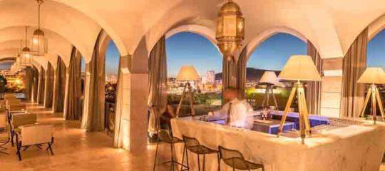 soirée avec immersion dans l'univers marocain